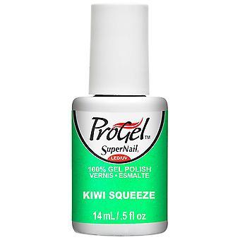 SuperNail ProGel Gel Nail Polish - Kiwi Squeeze 14ml