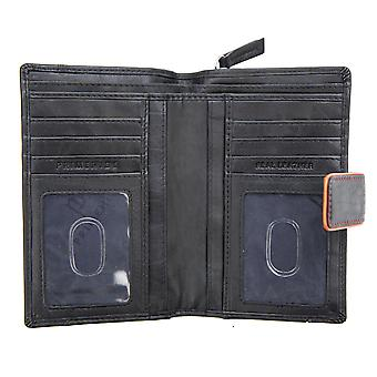 Primehide Large Womens Leather Purse Wallet RFID Blocking Card Holder 6700
