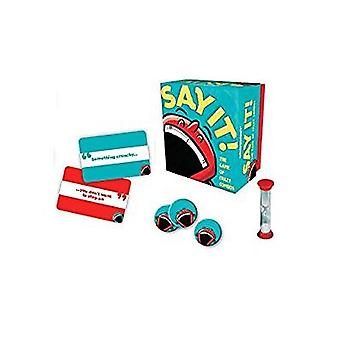 Games - Ceaco Gamewright - Say It New 1109D
