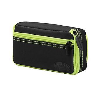 36-0701-11, Casemaster Plazma Plus Nero con custodia dardo rifinitura gialla e tasca del telefono