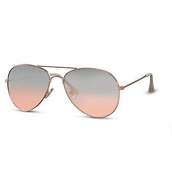نظارات شمسية يونيسيكس كات. 3 طيارة خضراء/ذهب