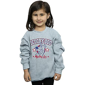 Scooby Doo Girls Collegiate Mystery Inc Sweatshirt