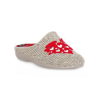 Grunland 58alin beige-röda skor