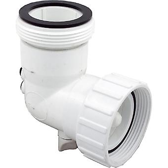 """Hydro-Quip 48-0081-S 2"""" FPT x 2"""" MBT 90 deg Elbow with Thermowell"""