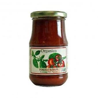 Organico - Org Tomato & Basil Sauce 340g