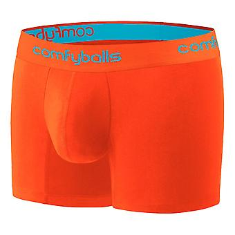 Comfyballs Performance Long Boxers - Sunset Orange
