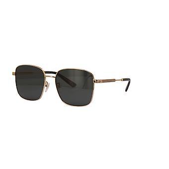 Gucci Asian Fit GG0852SK 001 Gold/Green Sunglasses