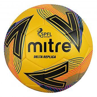 Mitre Delta SPFL 2020/21 Replica Football Soccer Ball Yellow