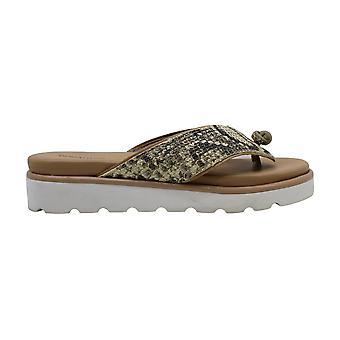 Donald J Pliner Womens Leaane Thong Sandals Leather Open Toe Beach