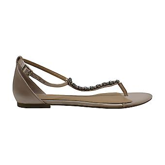 BADGLEY MISCHKA Femmes Gaby Fabric Split Toe Casual T-Strap Sandales