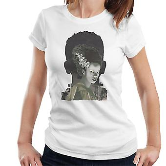 The Bride Of Frankenstein Head Women's T-Shirt