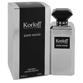 Korloff Silver Wood By Korloff Eau De Parfum Spray 3 Oz (men) V728-544217