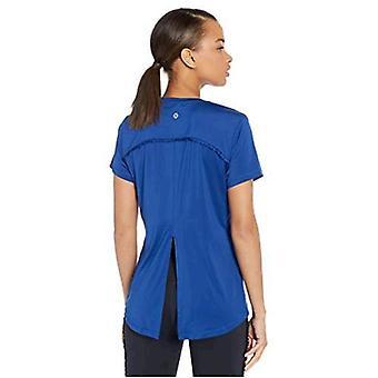 Brand - Core 10 Women's Icon Series 'Ruffle' Open Back Yoga T-Shirt