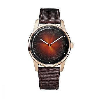 Mixed watch Awake ORIGINS WILD BROWN Quartz - Brown - 40 mm - WIL-BR-40