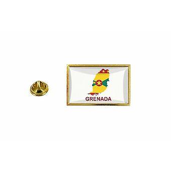 pine pine badge pine pin-apos;s land vlag kaart WG granaat
