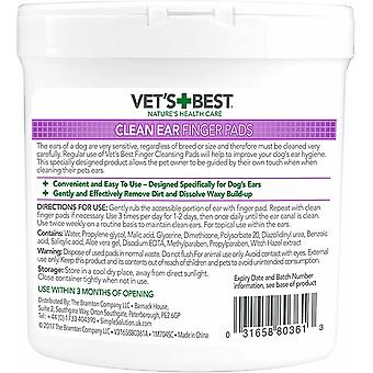 Vets Best Dog Ear Cleaner (Pack of 50)