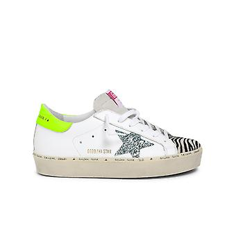 Golden Goose Gwf00118f00023180247 Kvinnor's Multicolor Läder Sneakers