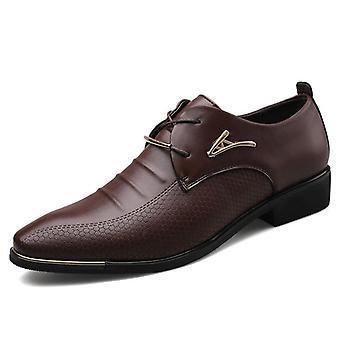 Men & apos;s الجلود الرسمية اللباس أزياء الأحذية