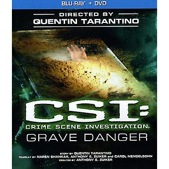 CSI: Grave perigo [BLU-RAY] EUA importar