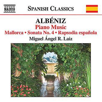 Albeniz / Laiz - Piano Music 8 [CD] USA import