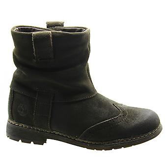 Timberland Amesbury Earthkeepers EK Mid Youths Boots Kids Dark Brown 9779R B45C