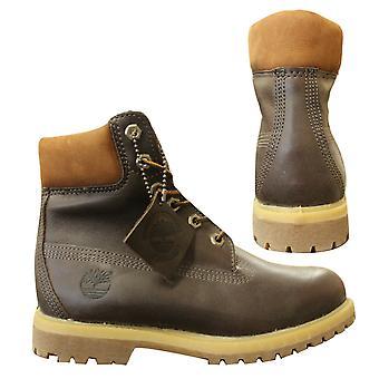 Timberland Earthkeepers 6 tums brun mjukt läder kvinnors stövlar 8233A B68B