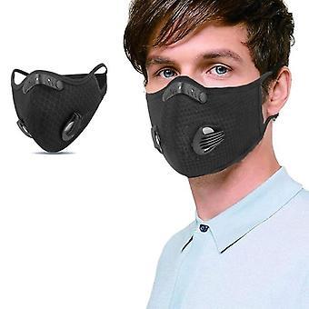 Ποδηλασία αθλητική μάσκα προσώπου με 2 φίλτρο