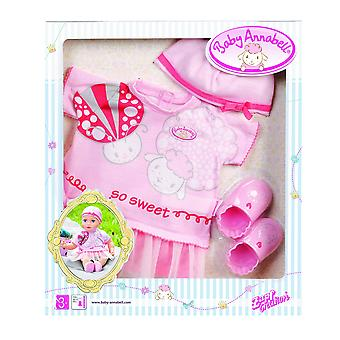 Baby annabell deluxe summer dream outfit set