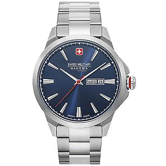 Mens Watch Swiss Military Hanowa 06-5346.04.003, Quartz, 45mm, 10ATM