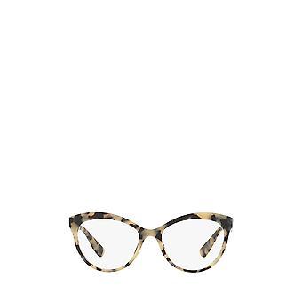 Miu Miu MU 04RV arena marrón gafas hembra