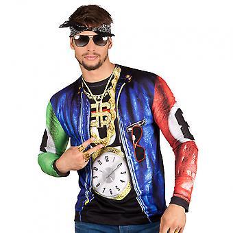 Shirt Rapper Men Polyester Bt424933