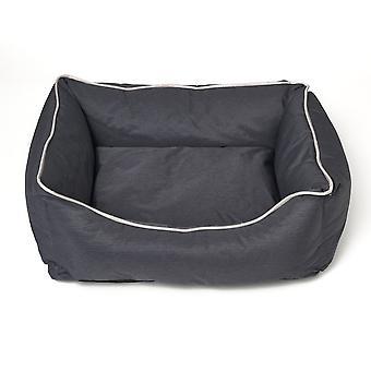 Hund - Katze Kissen Bastiaan - dunkelgrau - Größe S