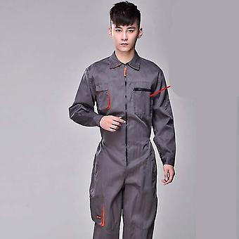 Protective Coverall Repairman Strap Jumpsuits Trousers Working Uniforms/women