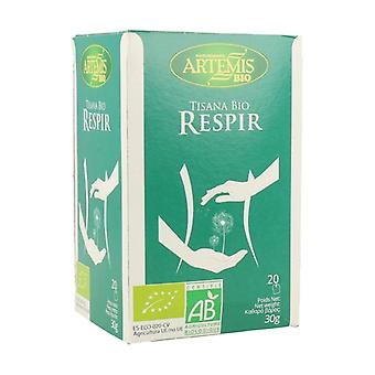 Respir Tisane Infusion Bio 20 infusion bags