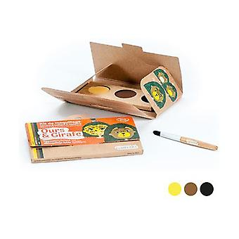 Children's Makeup Kit - Girafa and Bear Bio 1 unit