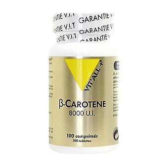 Beta-carotene 8000 IU 100 tablets