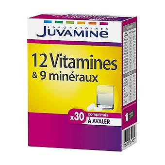 12 Vitamins + 9 Minerals 30 tablets