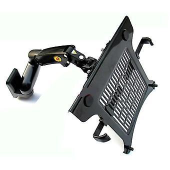 Gas Spring Dual Arm Laptop Wall Mounted Bracket