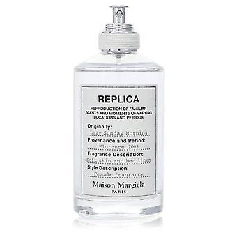 Replica Lazy Sunday Morning Eau de Toilette Spray (Testaaja) Kirjoittanut Maison Margiela 3,4 oz Eau de Toilette Spray