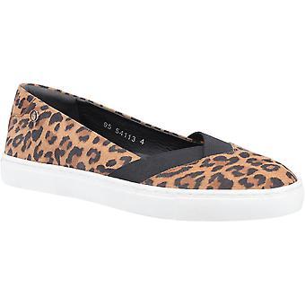 Hush Welpen Damen Tiffany Slip auf flachen Schuh verschiedene Farben 31962