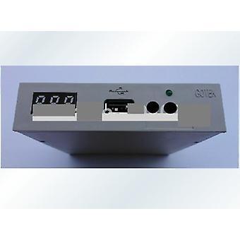 "Sfr1m44-u100k 3.5"" 1.44mb Usb Floppy Drive Emulaattori Yamaha Korg Rolandille"