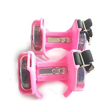 Flashing Roller Whirlwind Poulie / Roues Talon Chaussures réglables