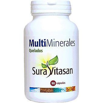 Sura Vitasan Multi Minerals Chelated 90 Capsules