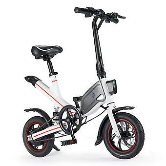 الاشياء المعتمدة® دراجة كهربائية قابلة للطي - على الطرق الوعرة الذكية E الدراجة - 250W - 6.6 آه البطارية - أبيض