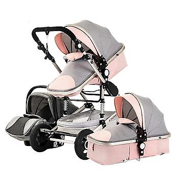 3 In 1 Portable Travel Baby Luxury Stroller