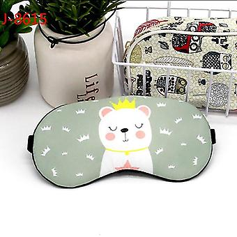 Śpiąca bawełna Creative Lovely Cartoon Mask Eyepatch