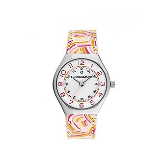 Women's Watch Lulu Castagnette Watches 38935 - Red Leather Bracelet