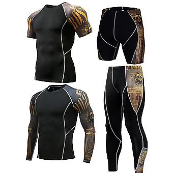 Men Sportswear Compression Suits, Quick Dry Running Sets