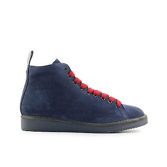 Pànchic Blue Denim Suède Boot