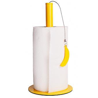 küchenrollenhalter Banane 31 cm Stahlgelb